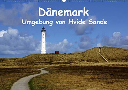Dänemark - Umgebung von Hvide Sande (Wandkalender 2021 DIN A2 quer)