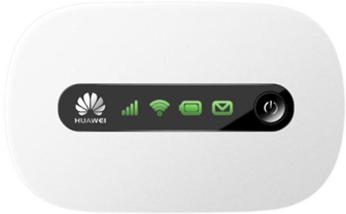 Huawei E5220 Mobiler Wifi WLAN-Router (bis zu 10 WLAN-Zugänge, 5s Boot-Zeit, HSPA+) weiß