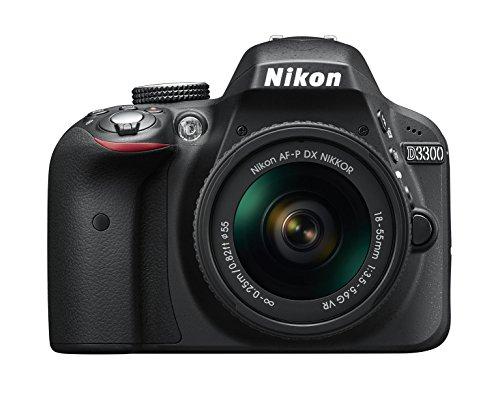 Nikon D3300 SLR-Digitalkamera Kit AF-P 18-55 VR schwarz