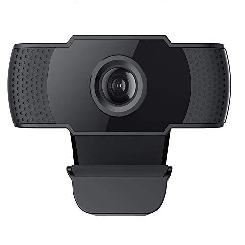 Licyley USB HD 1080P Webcam mit geräuschunterdrückendem Mikrofon PC Laptop Desktop Webkamera mit drehbarem Clip für Videoanrufe,Spiele,Live-Streaming und Konferenzen