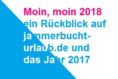 Rückblick 2017 - was alles geschah