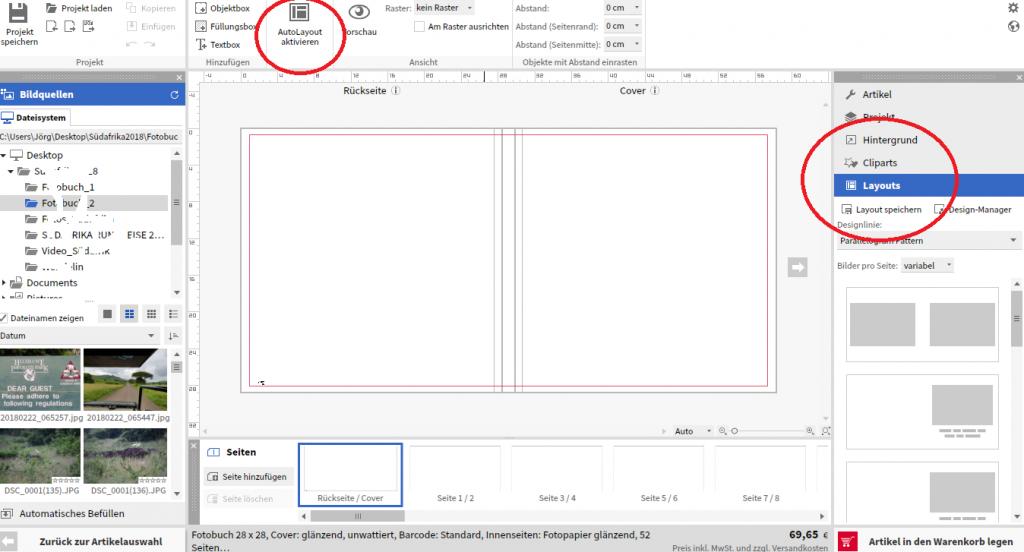 fotobuch software