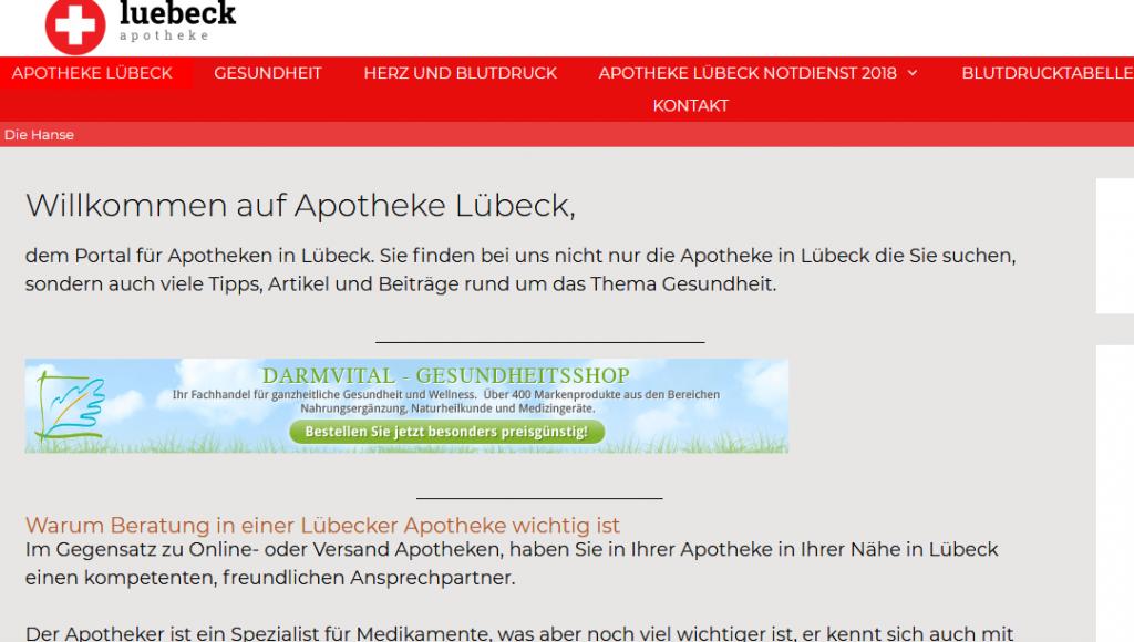 Apotheken Lübeck