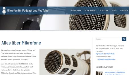 mikrofon für youtube