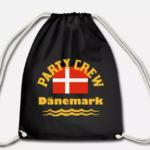 Sportbeutel Partycrew Dänemark